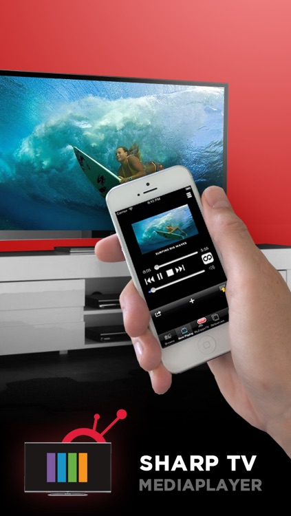 Media Player for Sharp TV