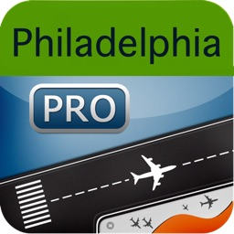 Philadelphia Airport HD Flight Tracker PHL