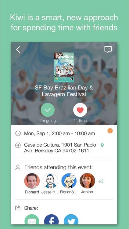 Kiwi Calendar - Social Calendar App screenshot-4