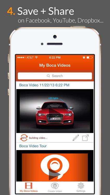 Boca Video - voice+visuals=video! screenshot-4