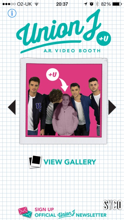 Union J +U AR Video Booth