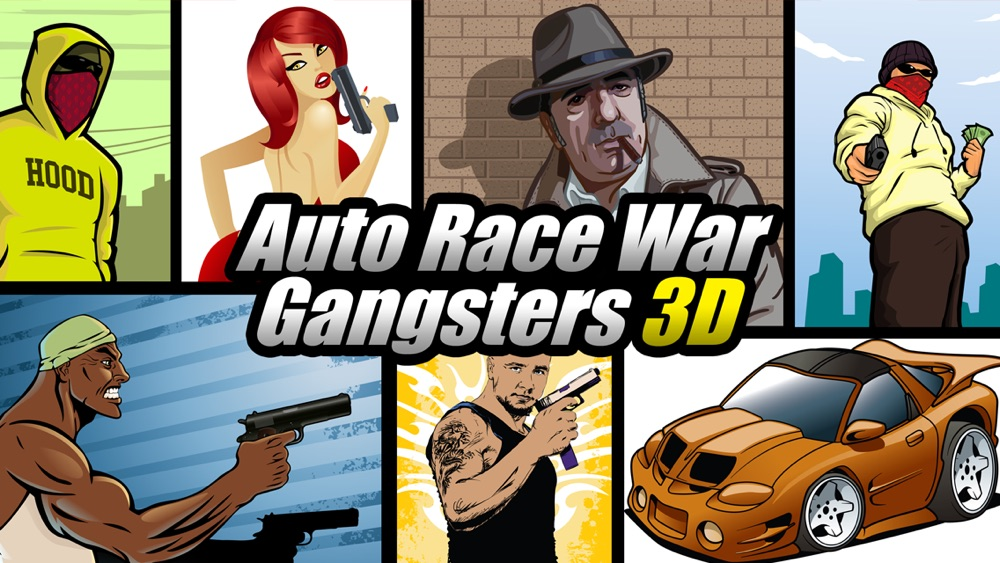 Auto Race War Gangsters 3D Multiplayer FREE – By Dead Cool Apps
