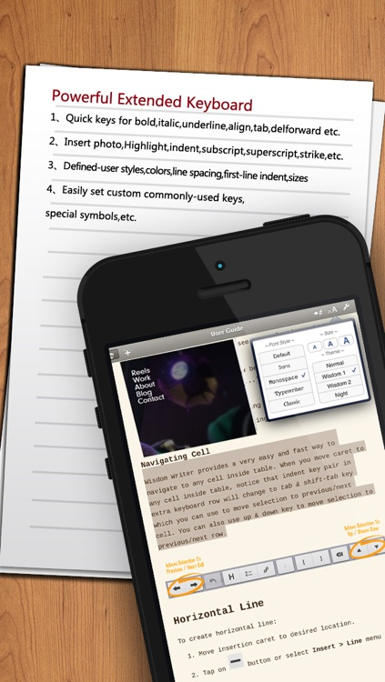 Word To Go Plus - Document Writer for Microsoft Office Word screenshot-3