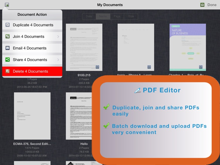PDF Editor for iPad screenshot-4