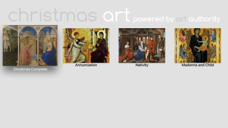 Christmas Art powered by Art Authority