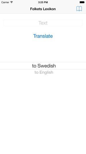 folkets lexikon svenska engelska
