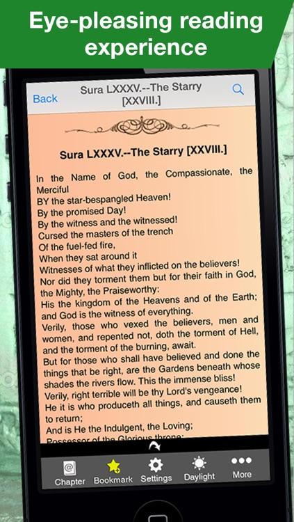 The Koran  (translated english version) screenshot-3