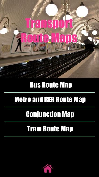 Paris Map offline- Ultimate Pocket paris guide with paris ratp RER paris metro map, Noctilien paris bus Routes Map, Transilien, France paris maps, paris Street map screenshot-3