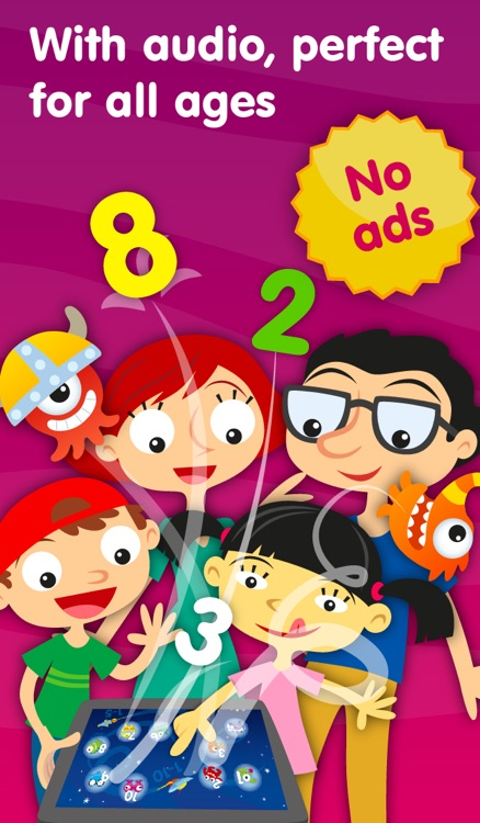 Aliens & Numbers - games for kids to learn maths and practice counting (Premium) screenshot-4