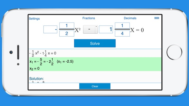 quadratic formula calculator wolfram