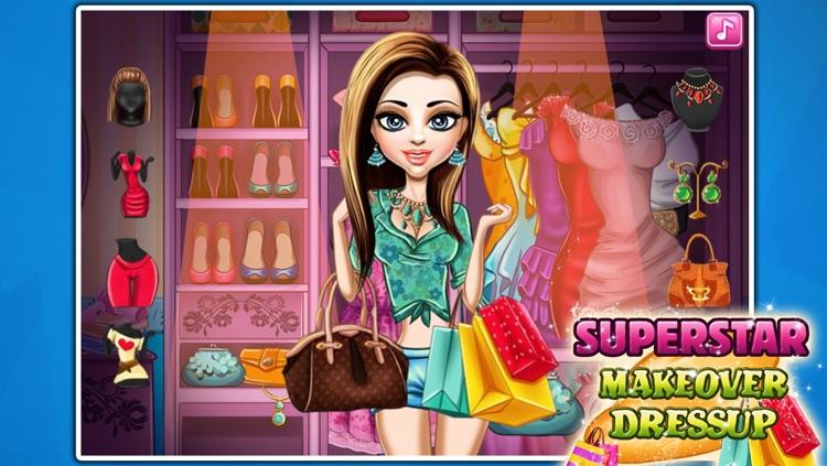Superstar Makeover&Dressup screenshot-4