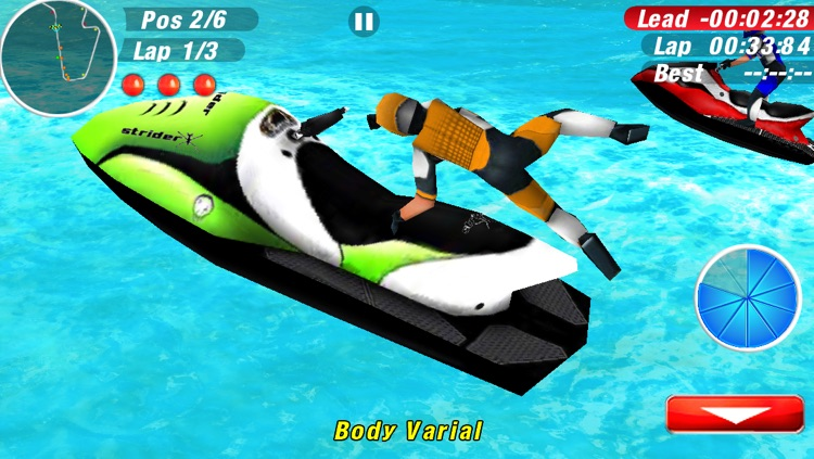 Aqua Moto Racing 2 screenshot-0