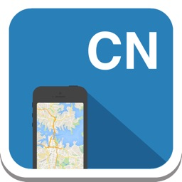 China offline map, guide, weather, hotels. Free GPS navigation.