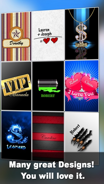 Pimp Your Name – unique backgrounds with YOUR Name! screenshot-4
