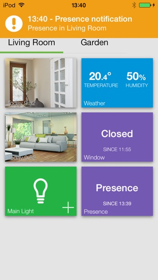 Archos Smart Home Screenshot