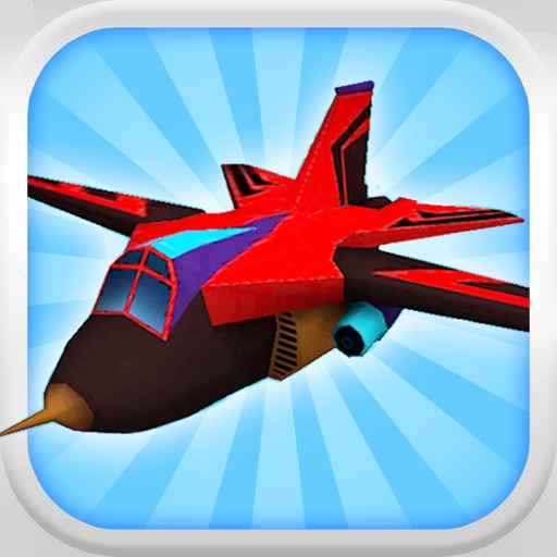A Jet Fighter Pilot: 3D Airplane Flight Simulator - FREE Edition iOS App