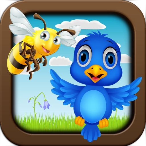 The Birds vs Bees game - Crazy Bee Invasion Games Lite