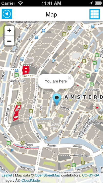 Amsterdam offline map, guide & hotels