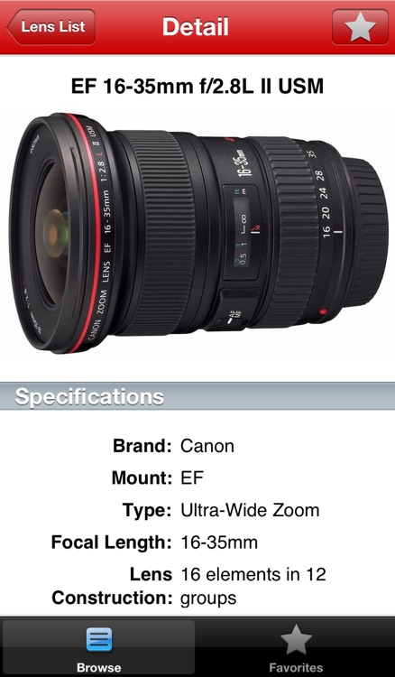 Canon Lens Buddy - Lenses for DSLR Cameras
