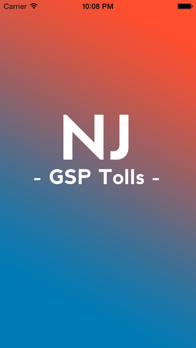 NJ Toll screenshot three