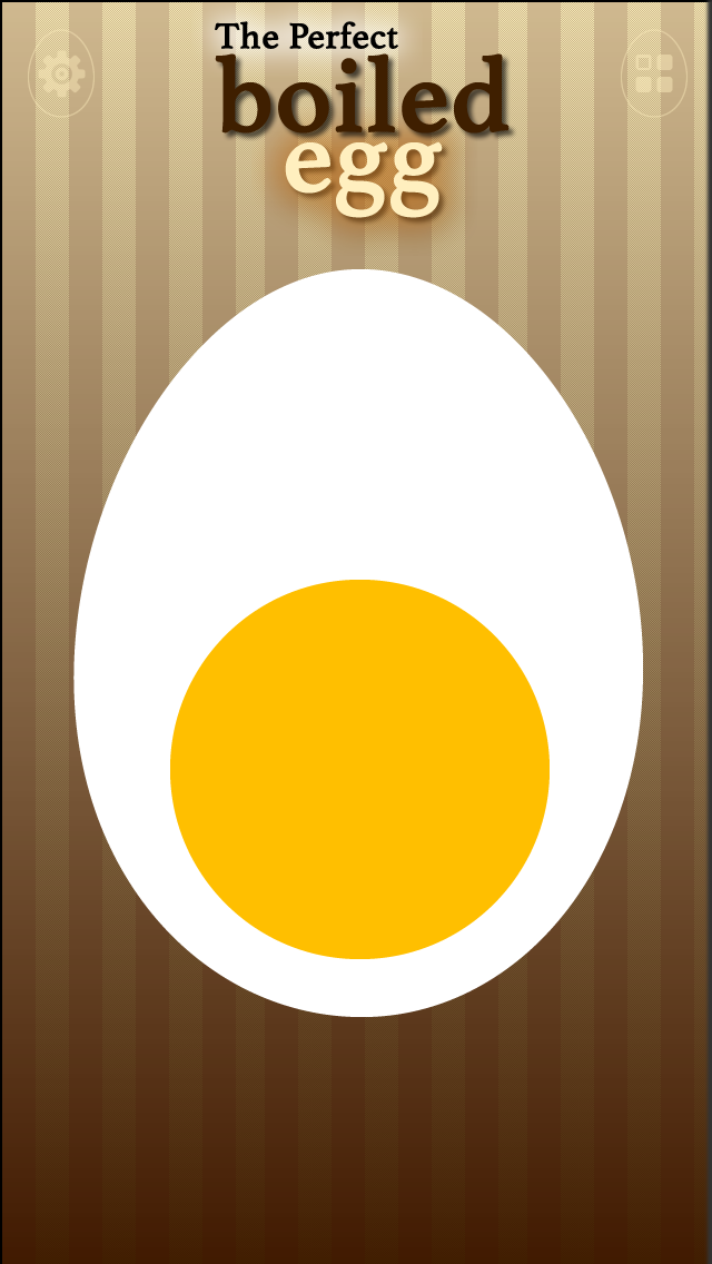 The Perfect Boiled Egg - The egg-timer you can not miss in your kitchen. screenshot one
