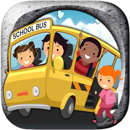 School Bus Parking Simulator Icon
