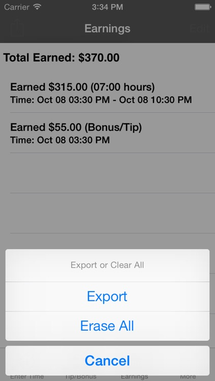 Easy TimeCard screenshot-3