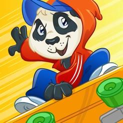 Skate Panda Escape Juego Gratis De Los Mejores Juegos Para Ninos