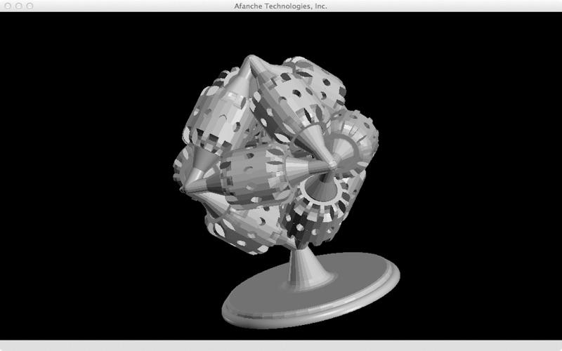 STL Viewer 3D скриншот программы 3