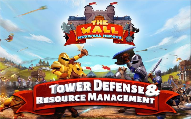 The Wall : Medieval Heroes screenshot 1