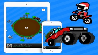 Monster Truck Jumper - BEST BIKE JUMPING GAME WITH MULTIPLAYER Screenshot on iOS