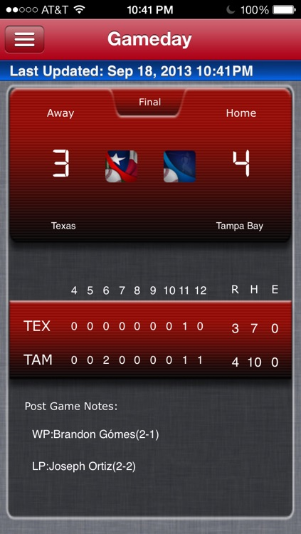 Texas Baseball Live screenshot-0