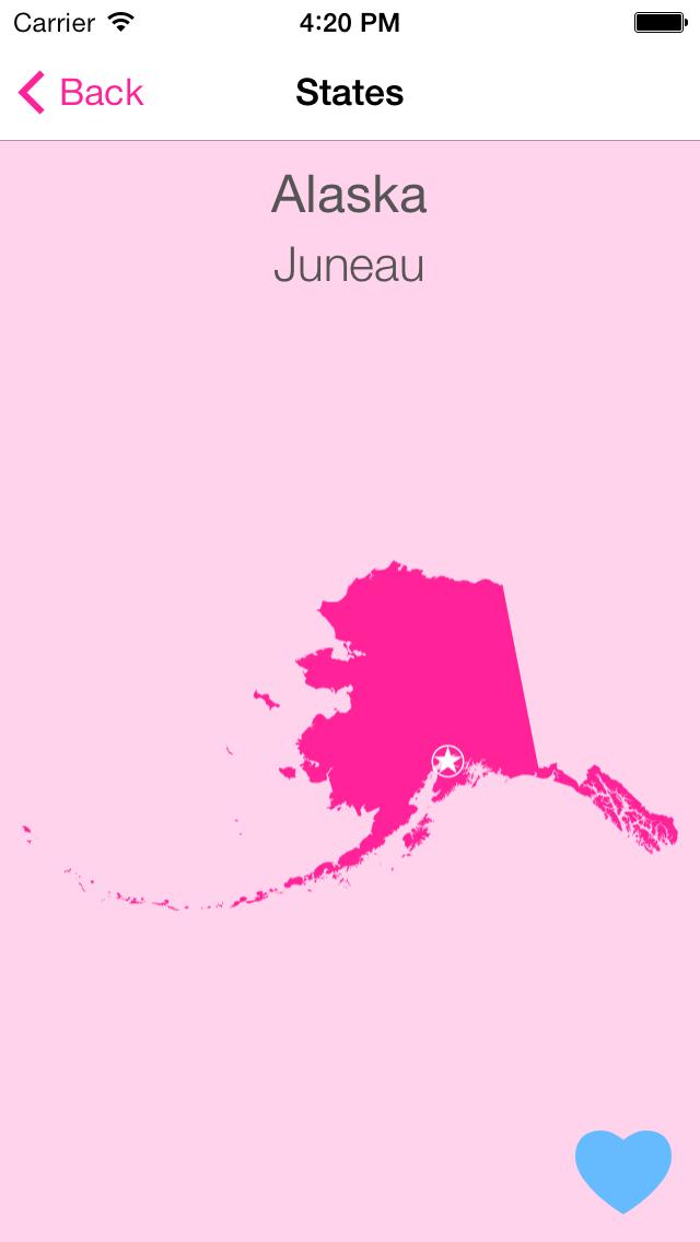 Screenshot #2 pour States-N-Capitals