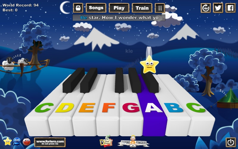 Music Keys Screenshot