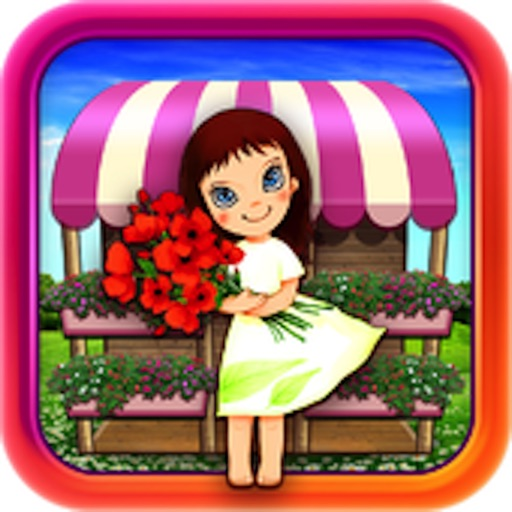 Gold Designer Flower Girl HD