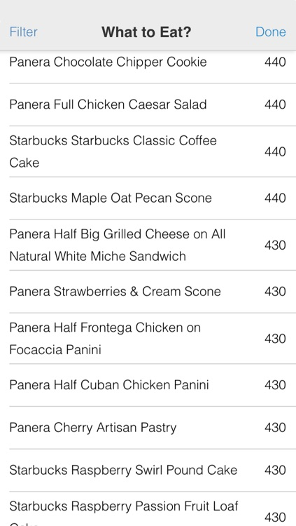 Calories Left: What to Eat Now? screenshot-3
