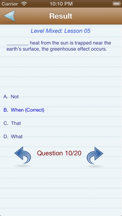 English Test Level (A,B,C) screenshot-4