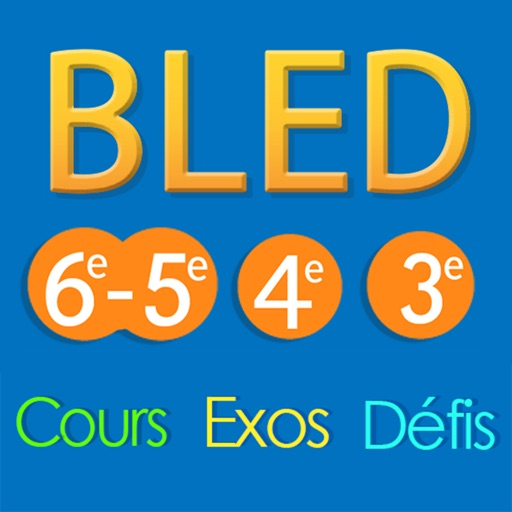 Le BLED Exos Collège icon