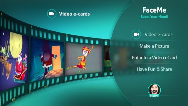 FaceMe  - customize & send funny eCards Screenshot