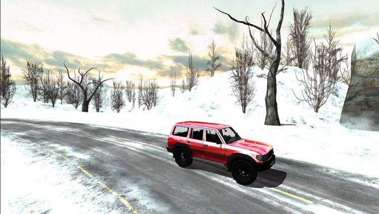 Car Race Winter