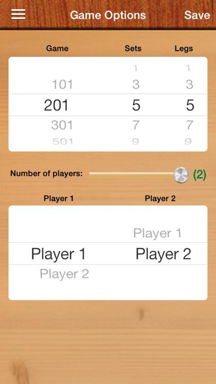 iDartScore FREE screenshot-4
