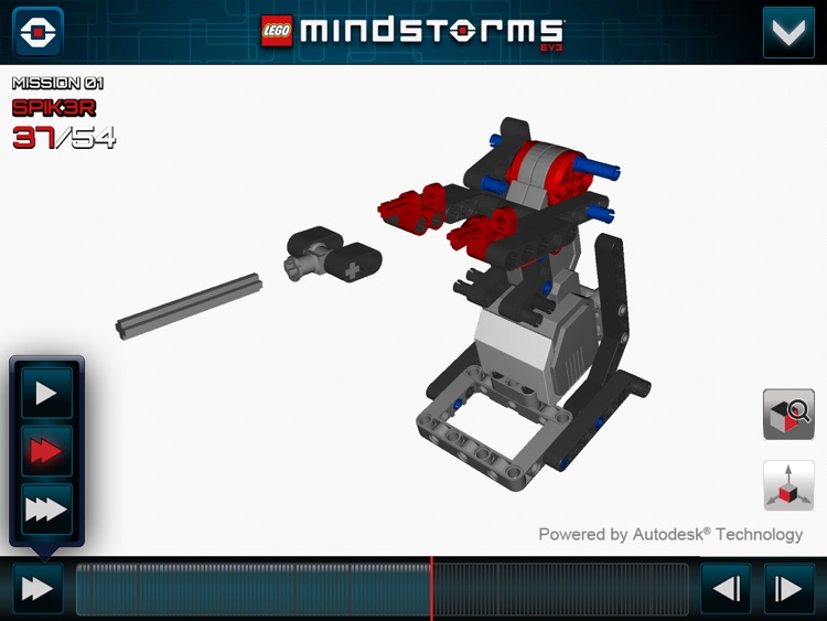LEGO® MINDSTORMS® 3D Builder