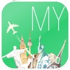 Malaysia Offline map & flights. Airline tickets, airports, car rental, hotels booking. Free navigation.