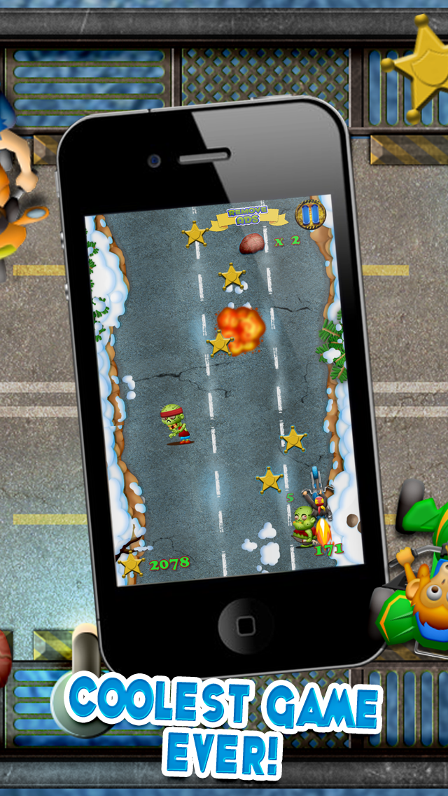 Zombie Motorcycle Reckless Escape : Can you Survive the Gangster Bike Race Highway Riots - FREE Challenge! screenshot four