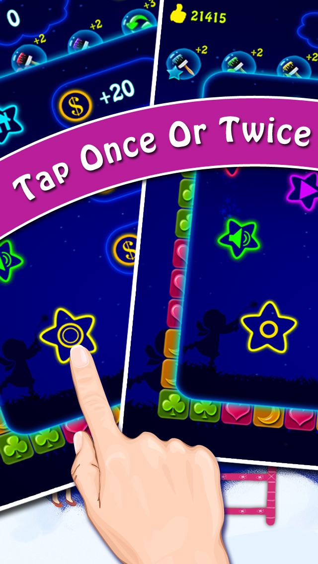 Lucky Stars 2 - A Free Addictive Star Crush Game To Pop All Stars In The Sky hack tool