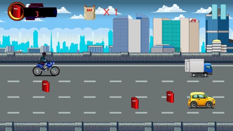 A Highway Motor-Cycle Enemy Assault : Super-Bike Shoot-ing Gun Strike Free screenshot-3
