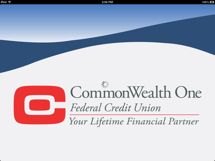CommonWealth One Federal Credit Union for iPad