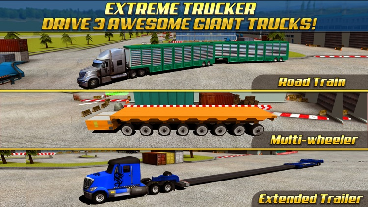 Extreme Truck Parking Simulator Game - Real Big Monster Car Driving Test Sim Racing Games screenshot-0
