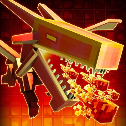 3D Dragon Run Blocky Game - Pro Version