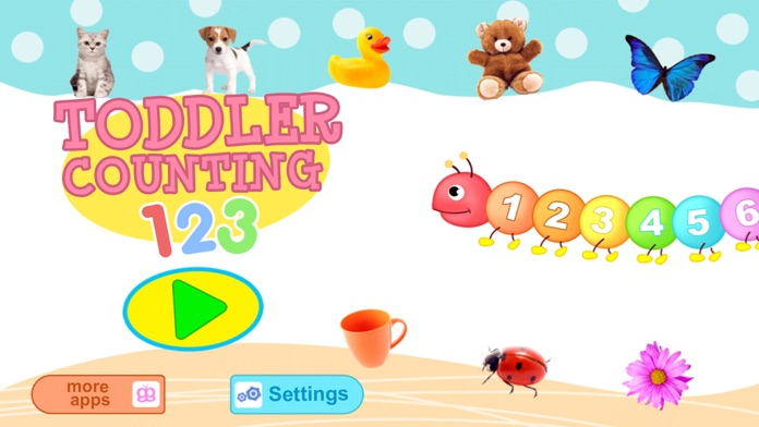 Toddler Counting 123 - Learn to count for kids! Screenshot